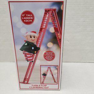 Mr. Christmas ELF Tabletop Climbing Ladder Tree